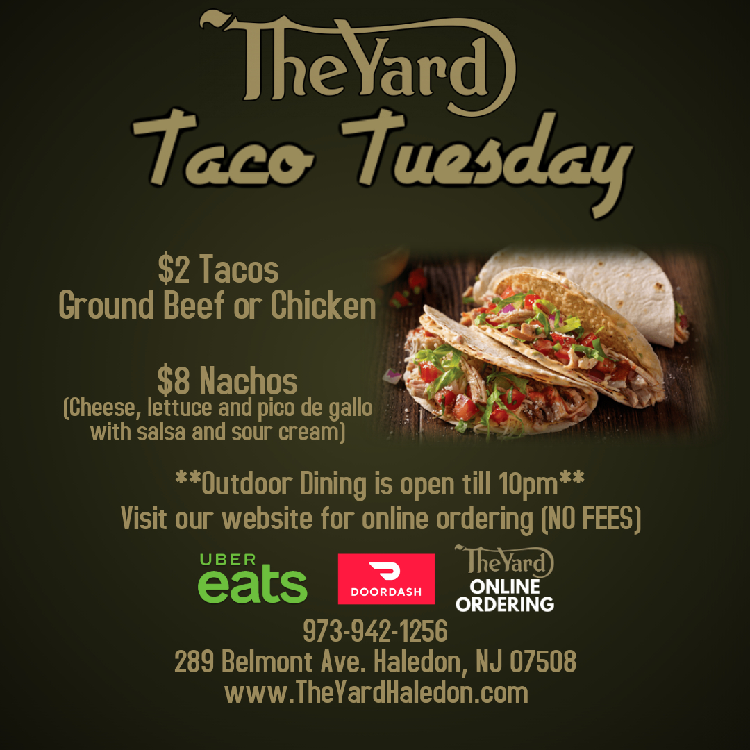 Taco Tuesday - The yard haleden