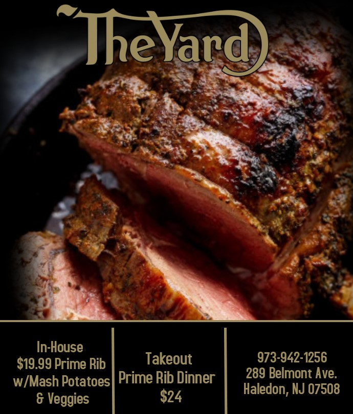 Prime Rib Specials - The yard haleden